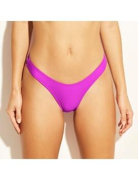 Women's Cheeky High Leg Bikini Bottom   Xhilaration™ Hot Lilac by Xhilaration