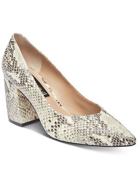 Women's Pamina Pointed Toe Pumps by Steven By Steve Madden