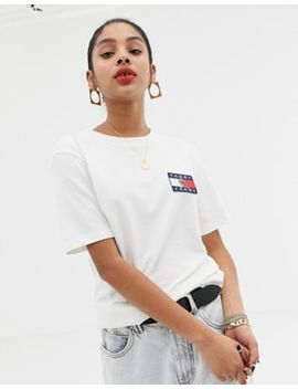 Tommy Jeans Capsule Crest Logo T Shirt by Tommy Jeans Capsule