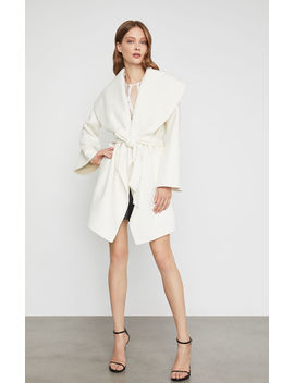 Hazel Wrap Coat by Bcbgmaxazria
