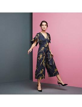 Eldora Printed Jumpsuit by Coast