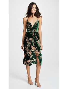 Emerald Floral Dress by J.O.A.
