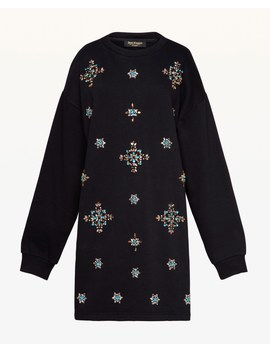 Jewel Embellished Fleece Dress by Juicy Couture