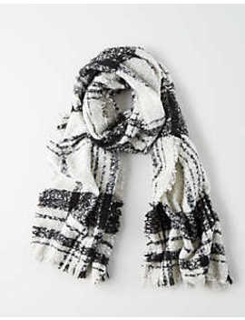 Aeo Classic Plaid Blanket Scarf by American Eagle Outfitters