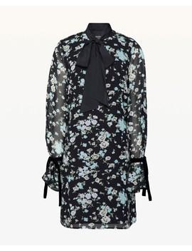 Autumn Floral Velvet Tie Dress by Juicy Couture