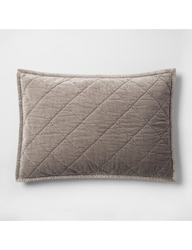 Velvet Pillow Sham   Fieldcrest® by Shop This Collection