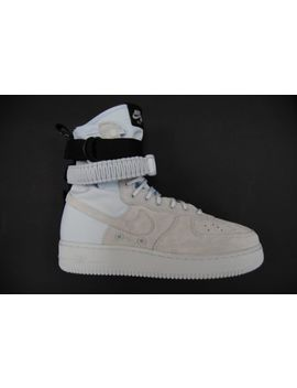 [864024 402] New Men's Nike Sf Af1 Air Force 1 High Grey Blue Tint Suede Up486 by Nike