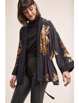 Kachel Anabella Floral Print Kimono by Kachel