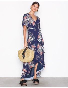 Wrap Maxi Dress by Glamorous