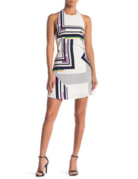 Juno Geometric Dress by Sugarlips
