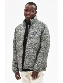 Obey Bouncer Leopard Puffer Jacket by Pacsun