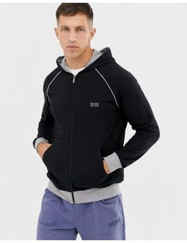 Boss Bodywear Hooded Zip Thru Jacket by Boss