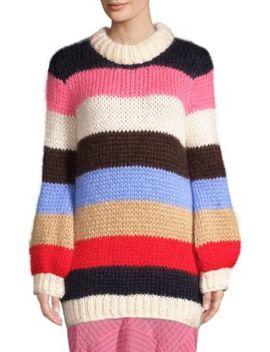 Julliard Mohair Wool Sweater by Ganni