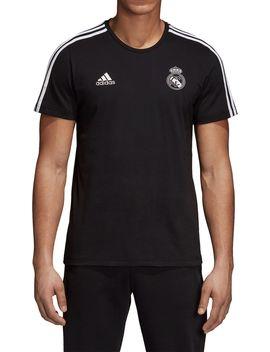 Adidas Men's Real Madrid 3's Black T Shirt by Adidas