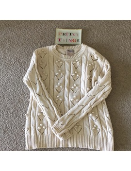 Forever 21 Pom Pom Sweater, Size Small Preowned/Used by Forever 21
