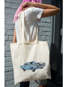 Motor Show Tote Bag by Brandy Melville