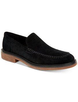 Men's Vance Suede Loafers by Calvin Klein
