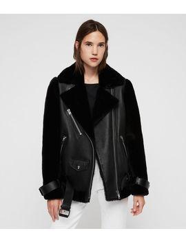 Alto Shearling Jacket by Allsaints