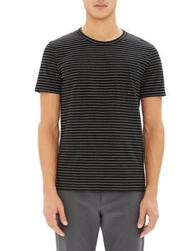 Essential Striped T Shirt by Theory