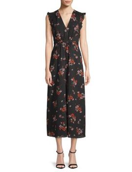 Marguerite Floral Midi Dress by Rebecca Taylor