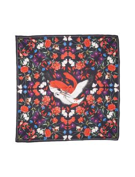 Mythical Creature Silk Shawl by Alexander Mcqueen