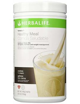 Herbalife F1 Cookies And Cream Shake Mix, 26.4 Ounces by Herbalife