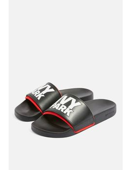 Stacked Logo Sliders By Ivy Park by Topshop
