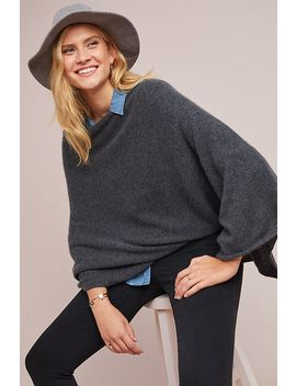 Lola Cashmere Poncho by White + Warren