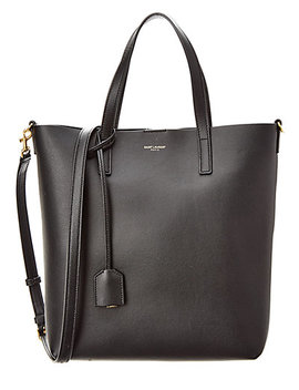 Saint Laurent Shopping Toy Leather Tote by Saint Laurent