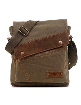 Vere Gloria Messenger Bag,Vintage Canvas Shoulder Crossbody Bag For Everyday Use by Vere Gloria