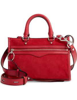 Micro Bedford Suede Satchel by Rebecca Minkoff