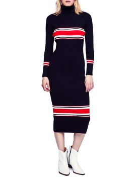 Sport Stripe Midi Sweater Dress by Free People