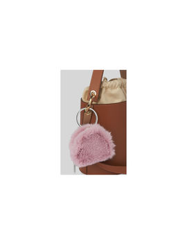 Harper Faux Fur Keyring Purse by Whistles