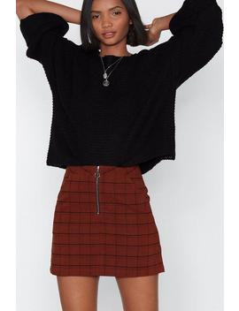 As If Plaid Skirt by Nasty Gal