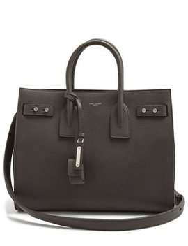 Sac De Jour Small Grained Leather Tote by Matches Fashion