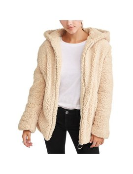 Juniors' Babo Fur Jacket With Babo Fur Lining by Bhip