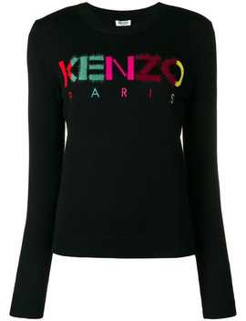 Multicoloured Letters Jumper by Kenzo