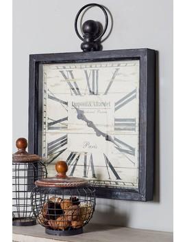Metal Wall Clock by Uma