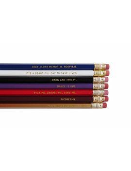 Greys Anatomy Engraved Pencil Set Youre My Person Nurse Gift Gold Foil Pencil Set Engraved Pencils Funny Pencils Gift For Nurse Student Gift by Amazon