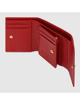 Brieftasche Gg Marmont Aus Leder by Gucci