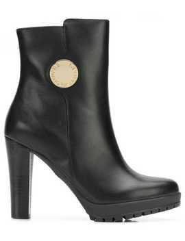 Platform Boots by Emporio Armani