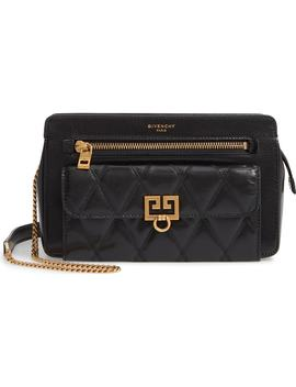Diamond Quilted Leather Crossbody Bag by Givenchy
