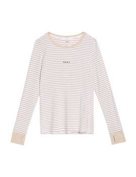 Striped Stretch Modal Jersey Pajama Set by Dkny