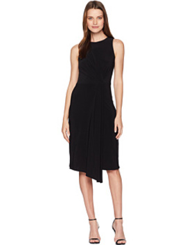 Sleeveless Front Pleat Midi Dress by Taylor