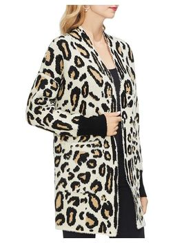 Cheetah Knit Cardigan by Vince Camuto