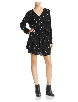 Jasmine Tiered Star Print Dress by Rails