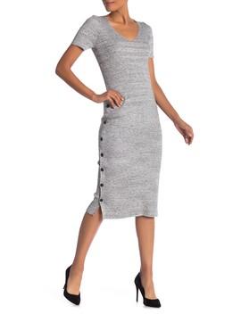 Short Sleeve V Neck Dress by Philosophy Apparel