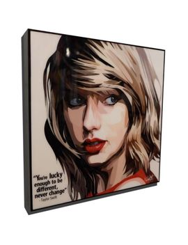 Taylor Swift 2 Pop Art Poster Painting Print Photo Framed Canvas Music Singer by Ebay Seller