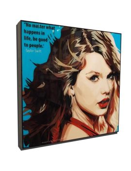 Taylor Swift Pop Art Poster Painting Print Photo Framed Canvas Music Singer by Ebay Seller