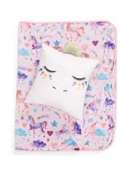 Unicorn Pillow & Blanket by Under One Sky